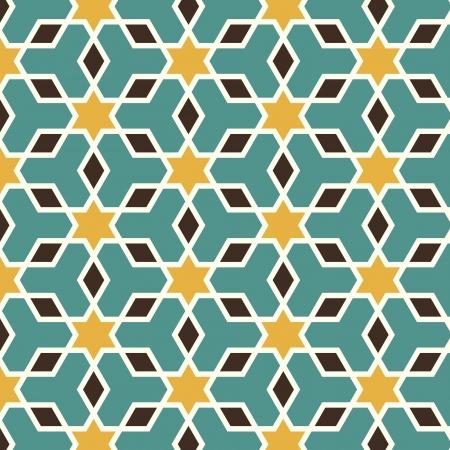 tile: Arabic seamless pattern  Illustration