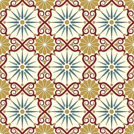 marokko: Arabisch naadloze patroon