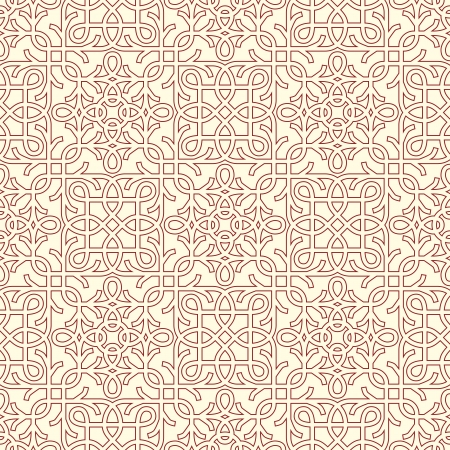 classic seamless pattern in editable Illustration