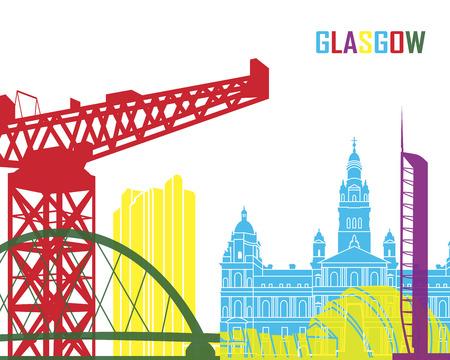 glasgow: Glasgow skyline pop