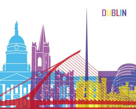 dublin: Dublin skyline