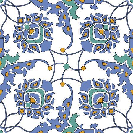arabesque pattern: Arabesque seamless pattern