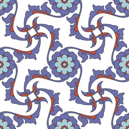 iznik: Arabesque seamless pattern