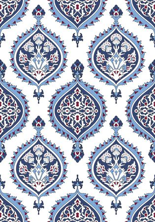 pattern antique: Arabesque seamless pattern in editable file