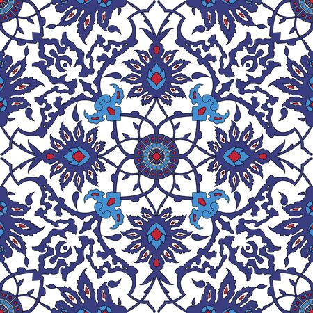 classical: Arabesque seamless pattern in editable file