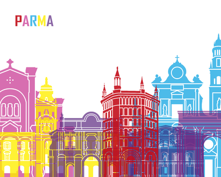 Parma skyline pop in editable file