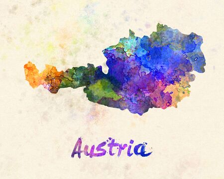 landlocked: Austria in watercolor
