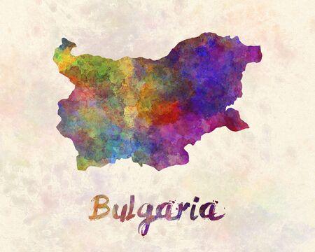 bulgaria: Bulgaria in watercolor