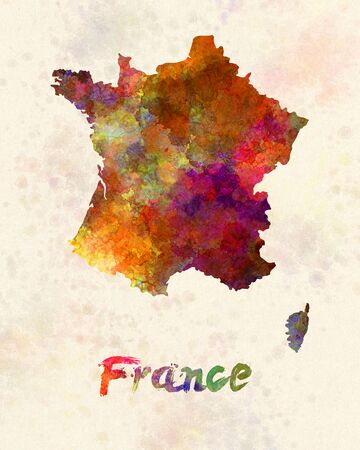 sovereign: France in watercolor