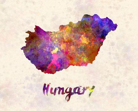 landlocked: Hungary in watercolor