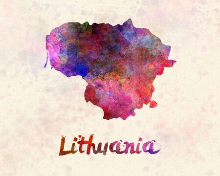 lithuania: Lithuania in watercolor