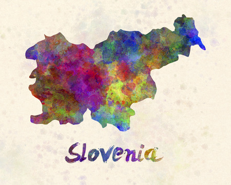 slovenia: Slovenia in watercolor