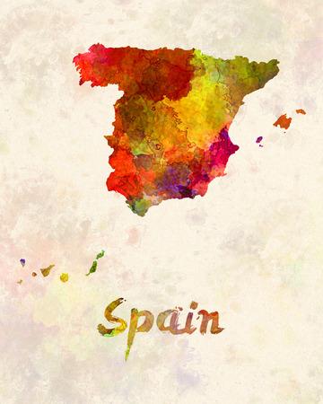 iberian: Spain in watercolor