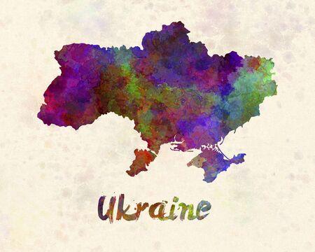ukraine: Ukraine in watercolor