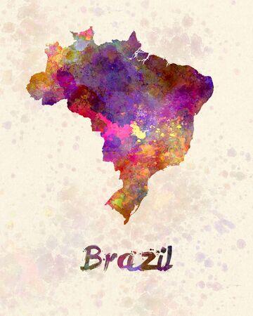 brasilia: Brazil in watercolor