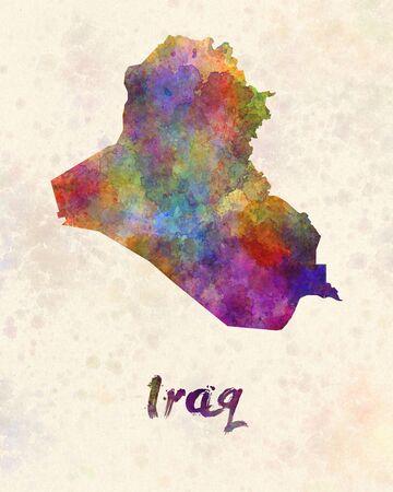 iraq: Iraq in watercolor
