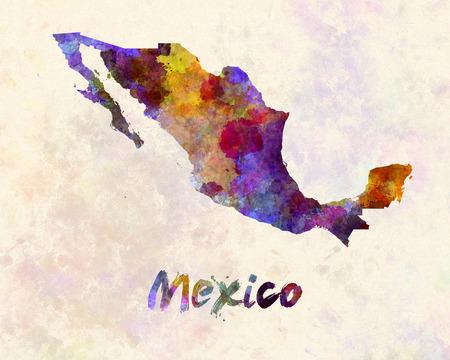 Mexico in watercolor