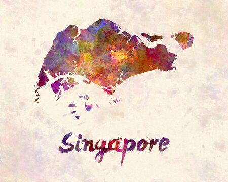 malai: Singapore in watercolor
