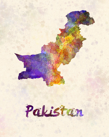 islamabad: Pakistan in watercolor