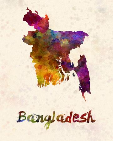 bengali: Bangladesh in watercolor
