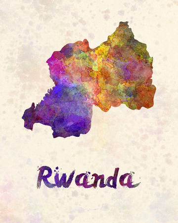 kigali: Rwanda in watercolor