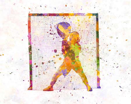Cricket player batsman silhouette 09