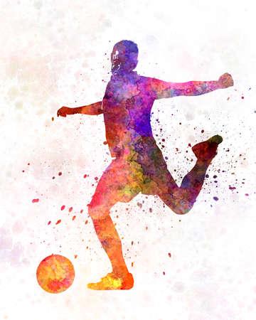 man soccer football player 03
