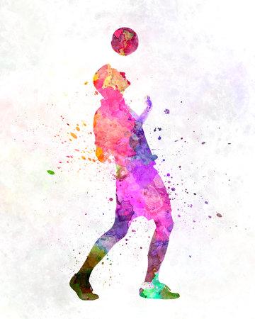 man soccer football player 06 版權商用圖片