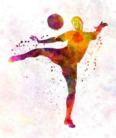 man soccer football player 07