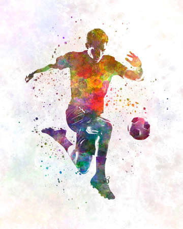 man soccer football player 09