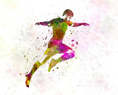 man soccer football player 12