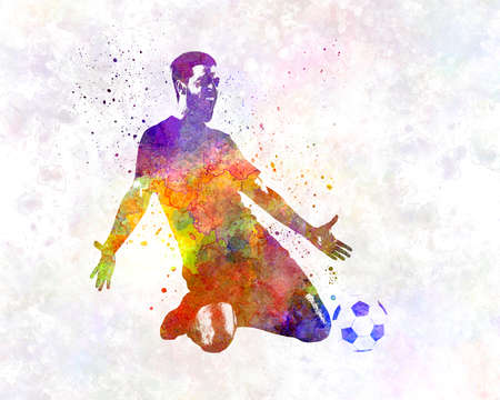 man soccer football player 13