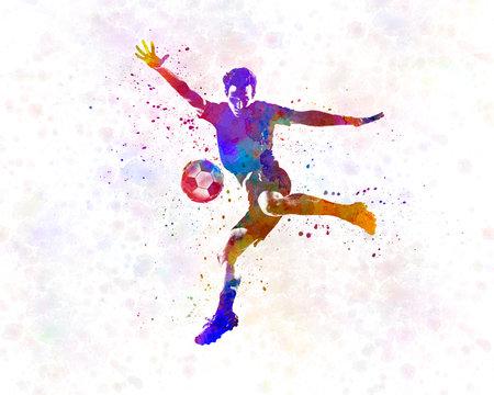 man soccer football player 14