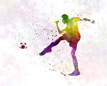 man soccer football player 15