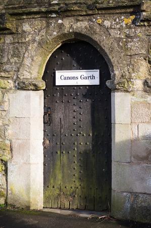 garth: Canons Garth, Helmsley, North Yorkshire, UK.