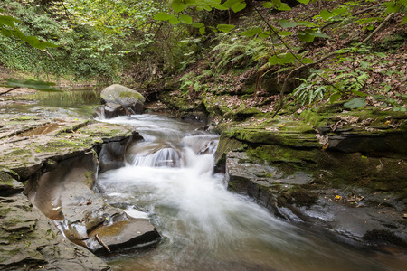 beck: A small stream, small waterfall, or beck in the North East of England