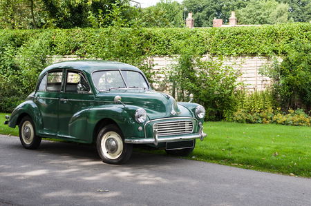 The Morris Minor is a British economy car that debuted at the Earls Court Motor Show, London, on 20 September 1948