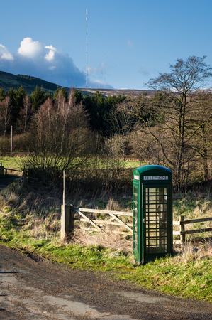 cell phone booth: Bilsdale is a dale in the western part of the North York Moors in North Yorkshire, England