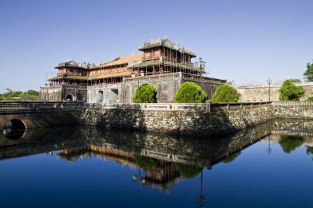 the forbidden city: Hue - Forbidden City entrance gate