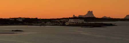Es Vedra Sunset Orange Afterglow