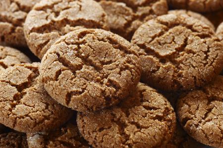 galletas de jengibre: Un grupo de galletas de jengibre Foto de archivo