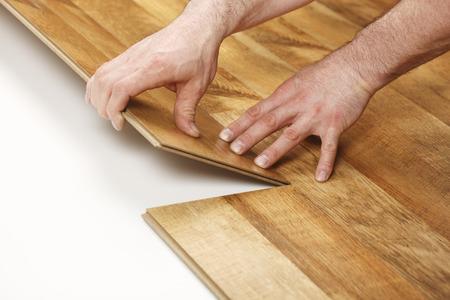 hardwood floor: Installing Laminate Flooring