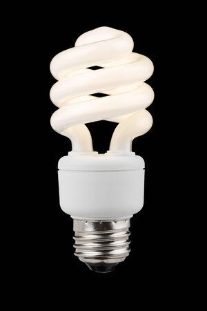 illuminated: Illuminated Compact Florescent Bulb