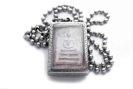 amulet: buddha amulet necklace