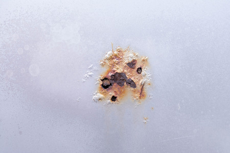 rust car door damage