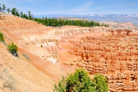 np: View on the never ending erosion process in Bryce Canyon NP, Utah, USA