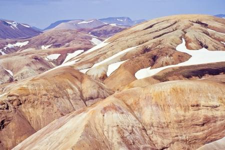 Rhyolite mountains in Fjallabak nature reserve (incl. Landmannalaugar), Iceland