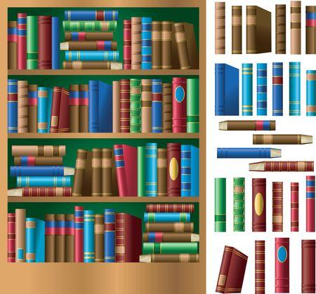 本棚や書籍