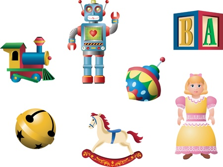 toy block: Retro Toys 1