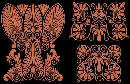 Greek Patterns Illustration